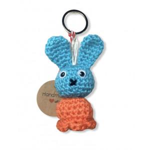 Llavero Conejo azul